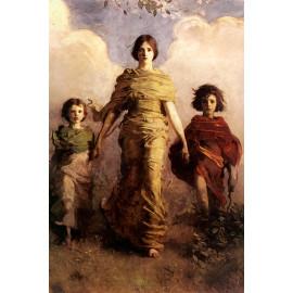 Vrouw met kinderen (5010.1010)