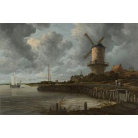 Molen Wijk bij Duurstede -  Jacob Isaacksz van Ruisdael  ca. 1668 - ca. 1670 (5010.2010)