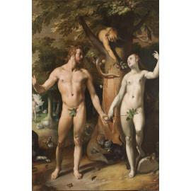 The Fall of Man - Cornelis Cornelisz van Haarlem 1592 (5010.2026)
