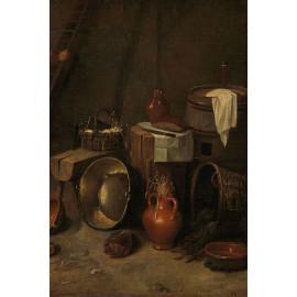 Stilleven in een stal -  Hendrik Potuyl  1639 - 1649 (5010.2030)
