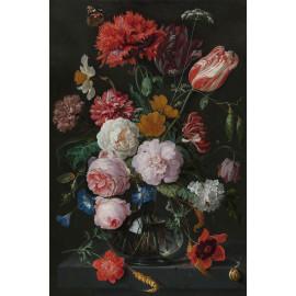 Stilleven met bloemen in een glazen vaas - Jan Davidsz. de Heem  1650 - 1683 (5010.2033)