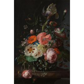 Stilleven met bloemen op een marmeren tafelblad -  Rachel Ruysch 1716 (5010.2034)