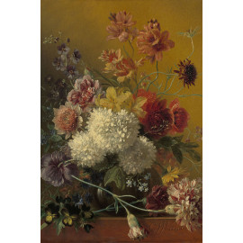 Stilleven met bloemen -  Georgius Jacobus Johannes van Os  1820 - 1861 (5010.2035)