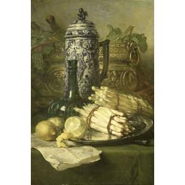Stilleven met kan van steengoed -  Maria Vos 1878 (5010.2038)