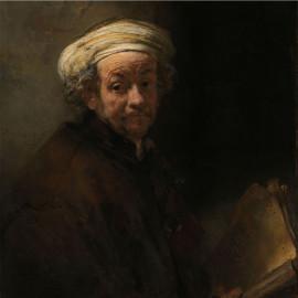 Zelfportret als de apostel Paulus - Rembrandt van Rijn 1661 (5010.2042)