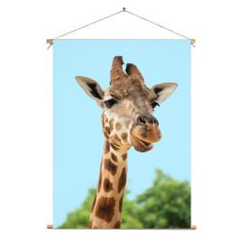 Textielposter Giraf 60 x 90...
