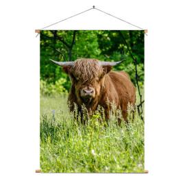Textielposter Longhorn...