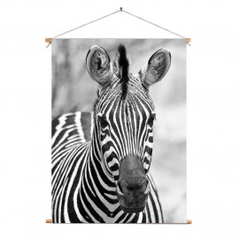 Textielposter Zebra 60 x 90...