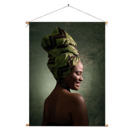 Textielposter Afrikaanse...