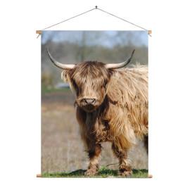 Textielposter © Saskia Llop -Natuur - Grote Grazer (6211.0081)