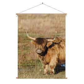 Textielposter © Saskia Llop -Natuur - Grote Grazer (6211.1096)