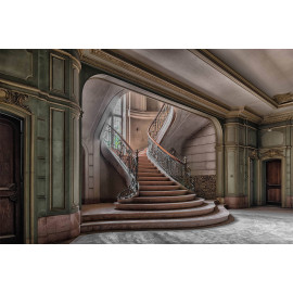 Wanddecoratie © Guy Bostijn - Stairs and Light - Urbex (6222.1001)