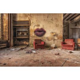 Wanddecoratie © Guy Bostijn - Still Life - Kiss me - Urbex (6222.1004)