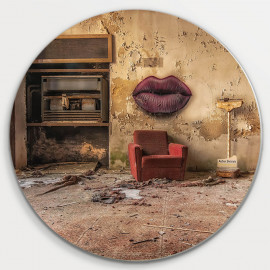 Muurcirkel © Guy Bostijn - Still Life - Kiss me - Urbex (6222.1004)