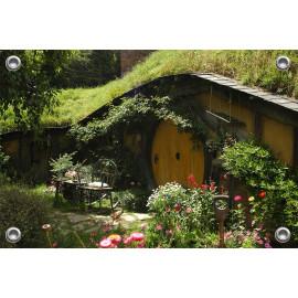 Tuinverruimer  - Voortuin ecologisch huis (5054.1029)