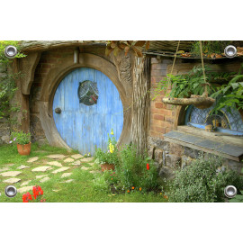 Tuinverruimer  - Voortuin ecologisch huis (5054.1040)