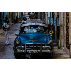 Wanddecoratie © René Groenendijk - Oldtimer Cuba Havana (6226.1009)