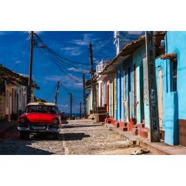 Wanddecoratie © René Groenendijk - Trinidad op Cuba (6226.1010)