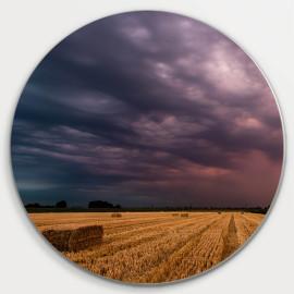 Muurcirkel © René Groenendijk - Onweer op komst Hooibalen (6226.1007)