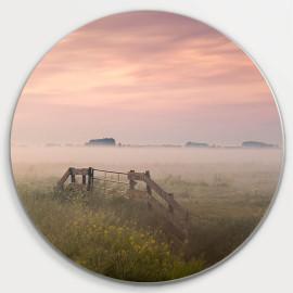 Muurcirkel © René Groenendijk - Oudeland mist (6226.1014)