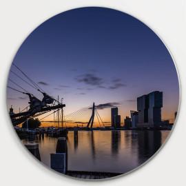 Muurcirkel © René Groenendijk - Rotterdam Skyline (6226.1018)
