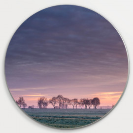 Muurcirkel © René Groenendijk - Ochtendlucht Noorderweg Alblasserdam (6226.1023)