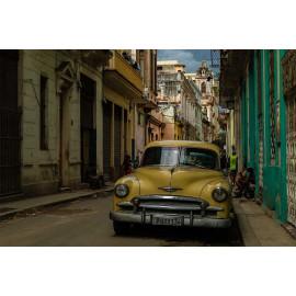 Wanddecoratie © René Groenendijk - Oldtimer Cuba  (6226.1075)