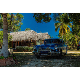 Wanddecoratie © René Groenendijk -Oldtimer Trinidad Cuba 2019 (6226.1091)