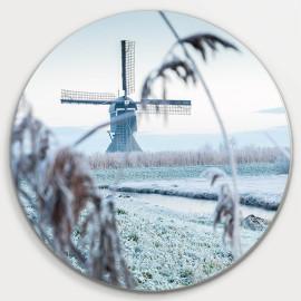 Muurcirkel © René Groenendijk - Broekmolen in de Winter (6226.1055)