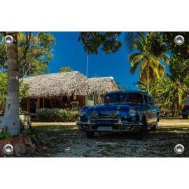 Tuinposter © René Groenendijk -Oldtimer Trinidad Cuba 2019 (6226.1091)