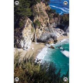 Tuinposter Zee met Baai (5051.3004)