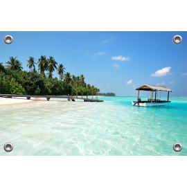 Tuinposter Medhufushi Islands (5051.3045)