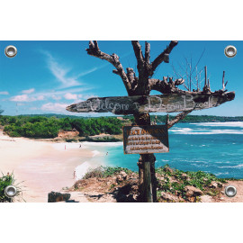 Tuinposter Strand dream beach  (5051.3047)