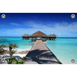 Tuinposter Maladiven Azië (5051.3065)