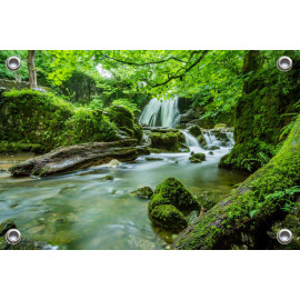 Tuinposter Waterval (5052.3001)
