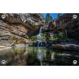 Tuinposter Waterval (5052.3002)