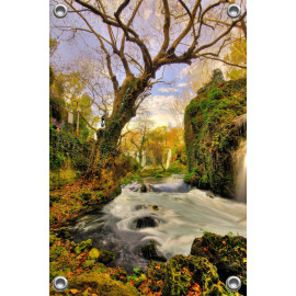 Tuinposter Waterval (5052.3005)
