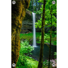 Tuinposter South and Silver Waterval Oregon (5052.3011)