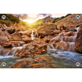 Tuinposter Waterval (5052.3015)
