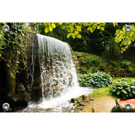 Tuinposter Waterval (5052.3024)