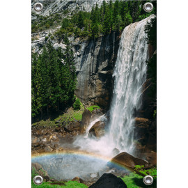 Tuinposter Waterval (5052.3025)