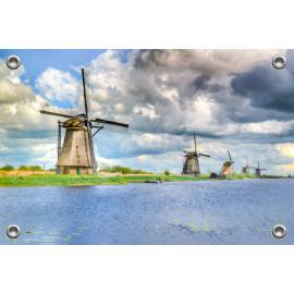 Tuinposter Hollandse Molens (5053.3001)