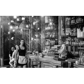 Wanddecoratie Bar Zwart-Wit (5030.3002)