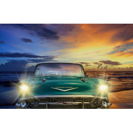 Wanddecoratie Classic Chevrolet (5035.3012)