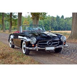 Wanddecoratie Mercedes oldtimer cabrio (5035.3016)