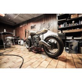 Wanddecoratie Garage Motorbike (5035.3017)