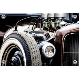 Tuinposter Auto Oldtimer (5035.3035)