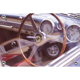 Tuinposter Auto Ferrari Interieur (5035.3039)