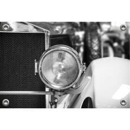 Tuinposter Auto Koplamp Oldtimer (5035.3040)