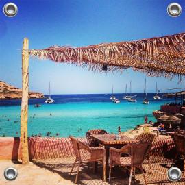 Tuinposter Zee Ibiza Spanje (5090.3013)